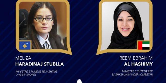 Meliza Haradinaj – Stublla: Emiratet e Bashkuara Arabe janë një partner i ardhshëm ekonomik i vendit tonë