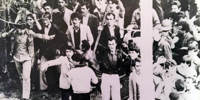 Më 1 prill 1981 mijëra studentë, nxënës e punëtorë mbajtën një protestë masive në qendër të Prishtinës