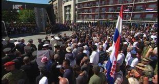 Kroacia shënon Ditën e Fitores kundër pushtimit serb