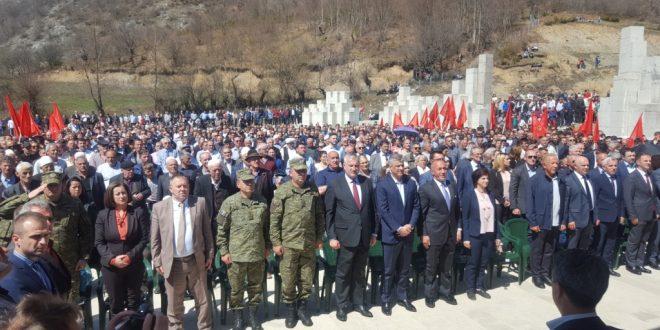 """Ministri dhe Komandanti i FSK-së morën pjesë në manifestimin, """"Ditët e Shqipës"""""""