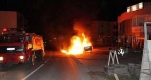 NISMA për Kosovën shprehet tejet e shqetësuar për djegien e veturave zyrtare dhe private