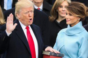 Donald Trump është betuar si kryetar i 45-të i Shteteve të Bashkuara të Amerikës