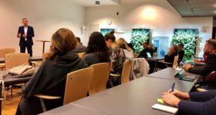 Kryetari i Kuvendit të Kosovës, Kadri Veseli, ka mbajtur sot një ligjëratë në Universitetin Aalto në Helsinki