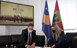 Nënshkruhet Memorandumi i mirëkuptimit ndërmjet Ministrisë së Mbrojtjes dhe Shërbimit Korrektues të Kosovës