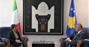 Kryeministri Haradinaj kërkon mbështetjen e Italisë për transformimin e FSK-së në ushtri të Kosovës
