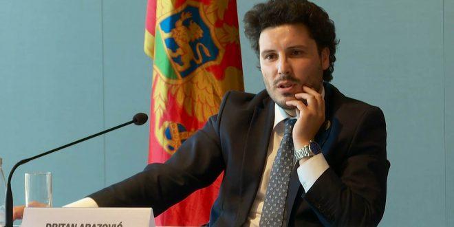 Politikani shqiptar, Dritan Abazoviq propozohet për zëvendës-kryeministër të Malit të Zi