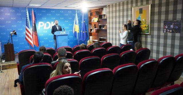 Abelard Tahiri ka theksuar se PKD-ja është fituese e këtyre zgjedhjeve, pavarësish rezultateve hipotetike të exit polleve