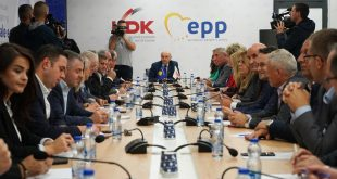LDK thotë se negociatat me Lëvizjen Vetëvendosje do të zhvillohen vetëm pas certifikimit të rezultateve