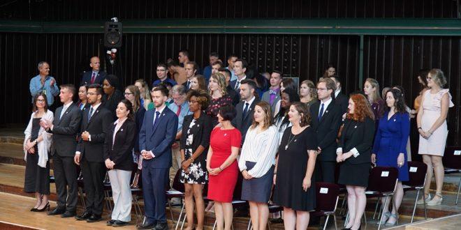 Janë betuar sot 38 vullnetarë të rinj të SHBA-ve pjesë e grupit të gjashtë të vullnetarëve të Korpusit të Paqes