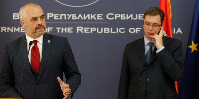 Edi Rama dhe Aleksandar Vuciq