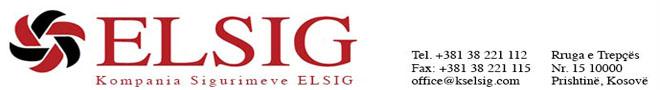 Kompania e sigurimeve - Elsig