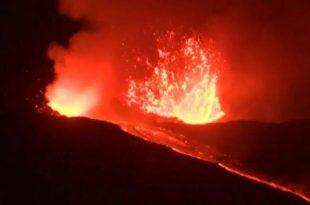 Shpërthen vullkani Etna në Itali, mbulohet një sipërfaqe të madhe nga hiri vullkanik