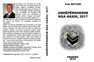 """Mexhid Yvejsi: Çfarë përmban libri, """"Udhë përshkrim nga Haxhi-2017"""", i autorit Faik Miftari"""