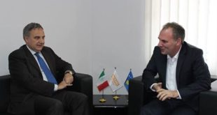Fatmir Limaj, dhe Skënder Reçica, pritën në takim ambasadorin e Italisë në Kosovë, Piero C. Sardi