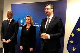 Shefja për Politikë të Jashtme të BE-së, Federica Mogherini takon sot në Berlin përfaqsuesit e Kosovës dhe Serbisë