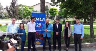 Partia FJALA hapi fushatën në Gjakovë dhe prezantoi tetë kandidatët e saj nga ky qytet