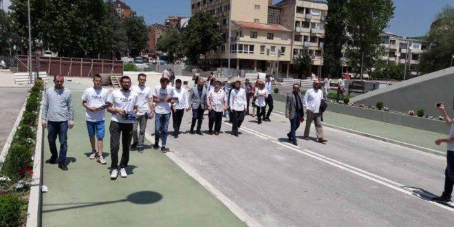 Partia FJALA hapi fushatën në Mitrovicë dhe mbajti takimet në pjesën veriore të saj