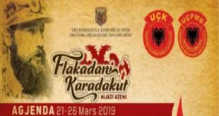 """Nga data 21 e deri me 26 mars 2019 në Viti organizohet manifestimi tradicional """"Flakadani i Karadakut"""" me aktivitete të shumta"""