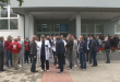 Për mos përfshirje në listat e shtesave prej 300 euro sot ka protestuar personeli mbështetës i QKUK-së dhe ShSKUK-së
