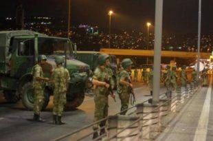 Në Turqi u bë përpjekje për një grusht shteti kundër një qeverie të zgjedhur nga populli