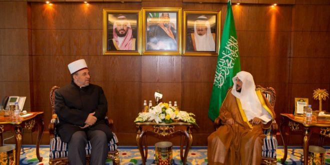 Myftiu i Kosovës, Naim Tërnava, po qëndron për në vizitë zyrtare në Arabinë Saudite