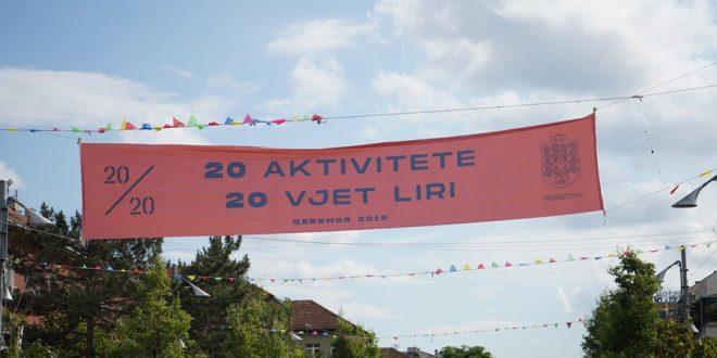 Me disa aktivitete sot shënohet 20 vjetori i lirisë dhe hyrja e trupave të NATO-s në Kosovë