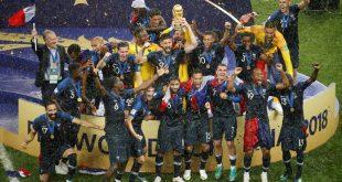 Franca është kampionia e re e botës pas fitores 4:2 ndaj Kroacisë në finalen e Kupës së Botës