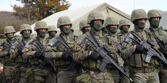 Kryeministri i vendit, Ramush Haradinaj thotë se Ushtria e Kosovës do të jetë sikur të gjitha ushtritë e botës