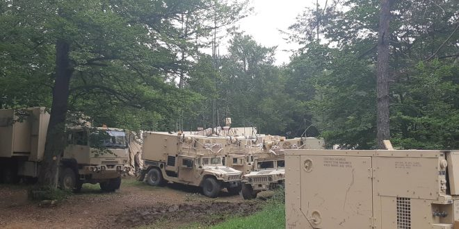 """Një kontingjent i Forcës së Sigurisë së Kosovës po merr pjesë në në ushtrimin fushor """"Zgjidhja e Kombinuar XII"""" në Gjermani"""