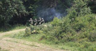 """Kadetët e FSK-së demonstruan aftësitë e tyre në ushtrimin fushor """"Kampi veror 2017"""""""