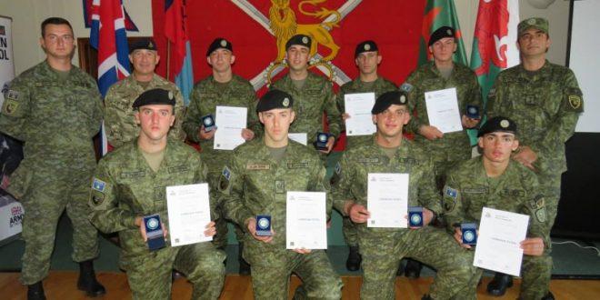 """Njësia e FSK-së njoftoi se ka fituar medaljen e argjendtë në ushtrimin e famshëm ndërkombëtar """"Cambrian Patrol 2021"""" në Mbretërinë e Bashkua"""