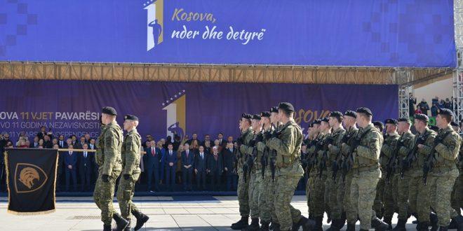 FSK-ja parakaloi në përvjetorin e 11-të të Shpalljes së Pavarësisë së Kosovës