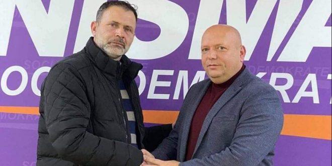 Nismës Socialdemokrate sot iu ka bashkuar edhe luftëtari i tri luftërave tona çlirimtare, Gafurr Osmani, nga komuna e Ferizajt