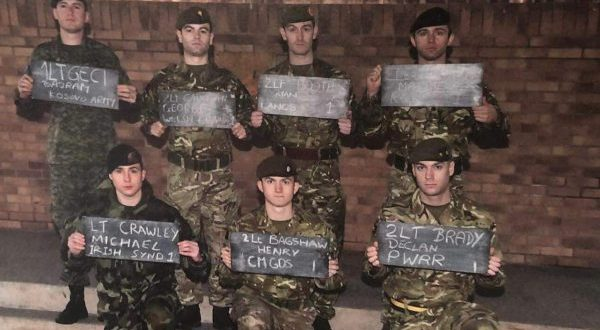 Oficeri i FSK-së, Bajram Geci, e përfundon me sukses kursin e Betejës së Komandantëve të Togjeve të Britanisë së Madhe