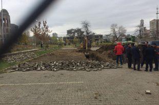 Po vazhdojnë gërmimet për mbetje mortore në oborrin e UP-së por ende nuk është gjetur ndonjë mbetje mortore