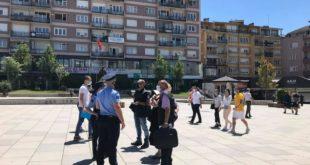 Për shkak të mosrespektimit të Ligji për Pandeminë, Policia e Kosovës tani ka dënuar 124 mijë e 152 qytetarë