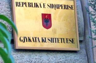 Gjykata Kushtetuese në Shqipëri