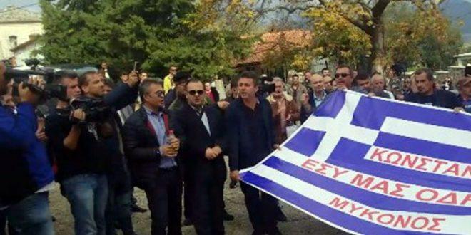 """Shoqata Kulturore Atdhetare, """"Labëria"""", reagon kundër fyerjeve që u bënë shqiptarëve terroristët grekë"""