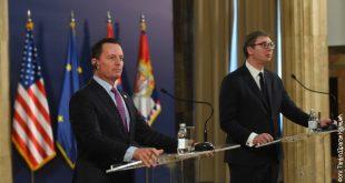 Richard Grenell: Serbia duhet ta ndalë fushatën për tërheqjen e njohjeve të Kosovës, Prishtina duhet ta heq taksën
