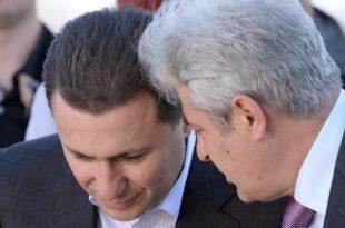 Ali Ahmeti dhe Nikolla Gruevski