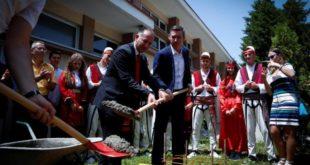 Në ambientet e Universitetit të Prizrenit u vendos gurëthemeli i shtatorës së Ukshin Hotit