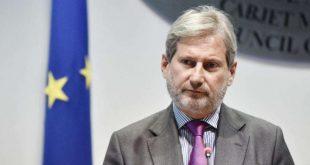 Prokurorët dhe gjykatësit e korruptuar në Shqipëri po dalin jashtë sistemit, deklaroi eurokomisioneri, Johannes Hahn