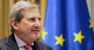 Komisioneri i BE-Së, Johannes Hahn, thotë se kompromisi politik për Ballkanin Perëndimor duhet të shpërblehet