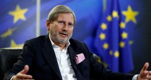 Hahn: Disa vende nuk janë ende të gatshme të konfirmojnë negociatat për Shqipërinë dhe Maqedoninë e Veriut