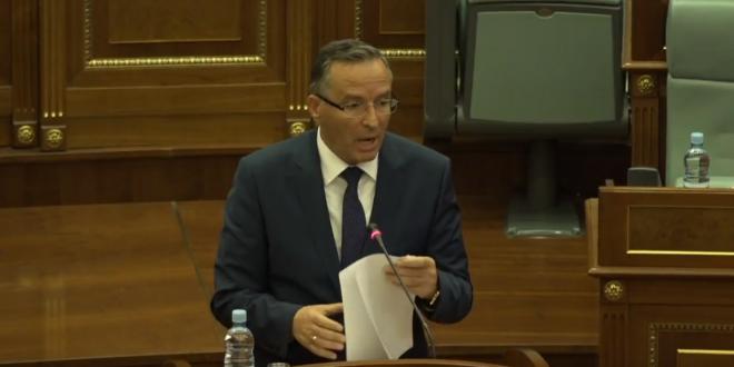 Ministri i Financave, Bedri Hamza thotë se draftbuxheti adreson dhe reflekton prioritetet e programit qeverisës