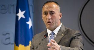"""Haradinaj: Është larguar në Zubin Potok tabela që shkruante """"Republika e Serbisë"""" dhe """"Krahina Autonome e Kosovës"""""""