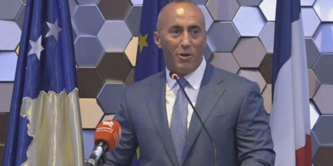 Haradinaj: Roli i Francës është rritur në arritjen e marrëveshjes me Serbinë për njohje reciproke në kufijtë ekzistues