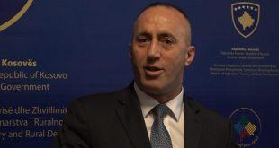 Haradinaj thotë se taksën ndaj Serbisë do e pezullonte sot nëse Serbia do vendoste ta njihte Kosovën