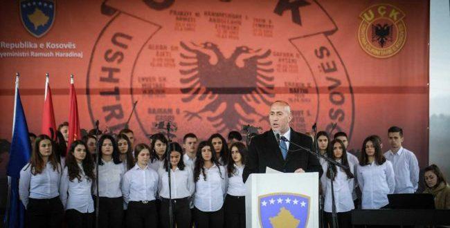 Haradinaj: Zyrtarët ndërkombëtarë duhet ta kuptojnë se hapja e kufijve do të hapë çështjen e pazgjidhur të shqiptarëve në Ballkan
