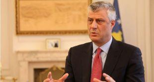 Kryetari Thaçi thotë se nuk ekziston asnjë marrëveshje e nënshkruar me Serbinë, siç përflitet nga disa politikanë